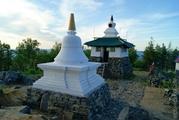 День в Буддистском монастыре.