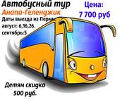 Специальное предложение,  автобусный тур Анапа-Геленджик